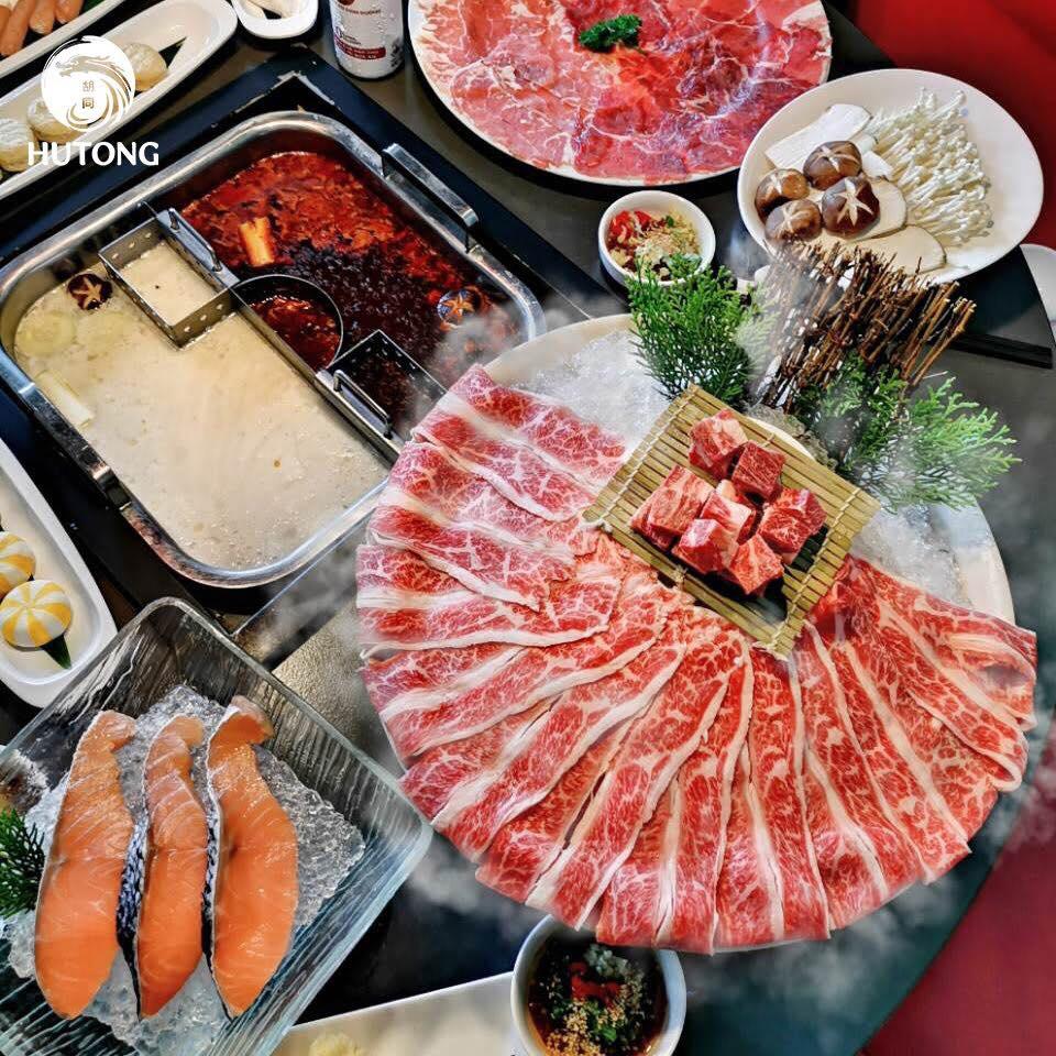 buffet lẩu hutong