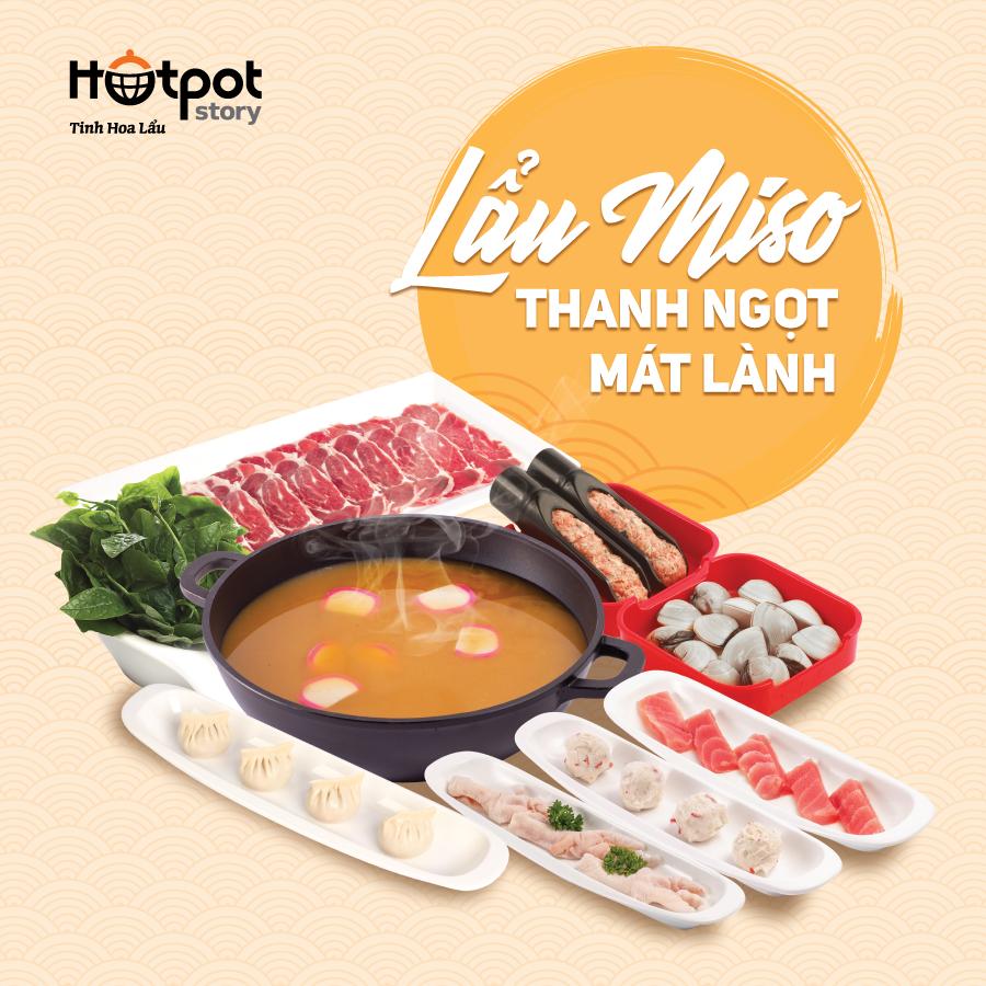 lẩu miso hotpot story